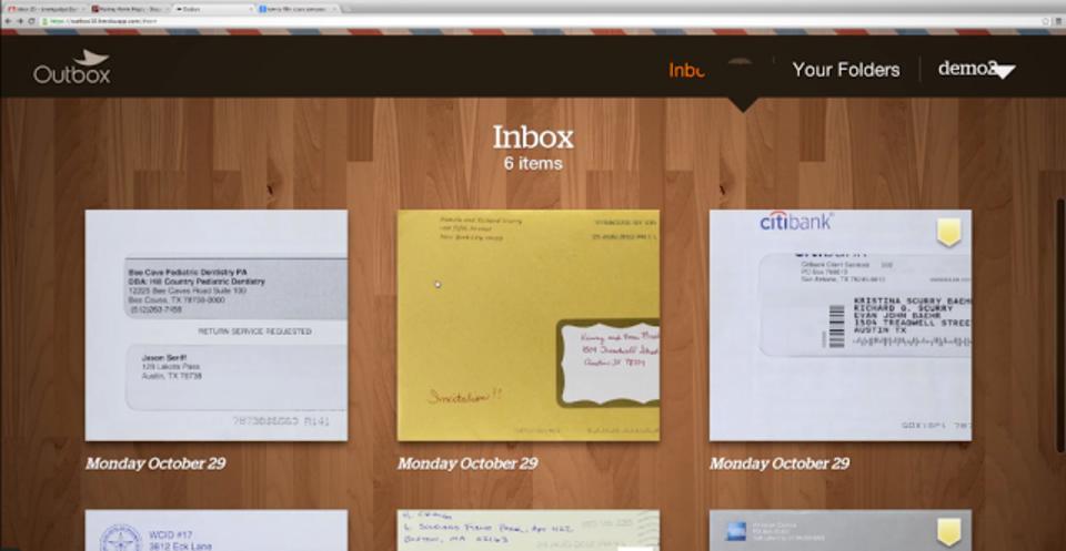 郵便をスキャン・電子化してくれるサービスがアメリカでスタート