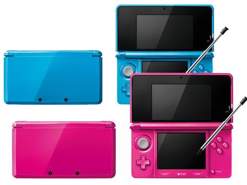 ニンテンドー3DSに新色2色が追加。付属SDカード容量が2倍になった!