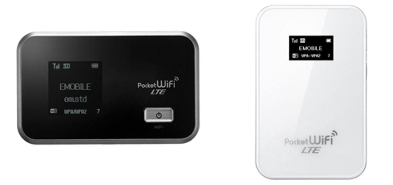 LTEでも12時間持つようになったんだね。イー・モバイルからLTE対応Wi-Fiルーター2機種登場。