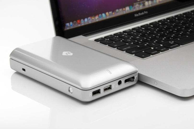 MacBookだって合体したい。MacBook Pro用のHDD内蔵ドッキングステーション「mDock」