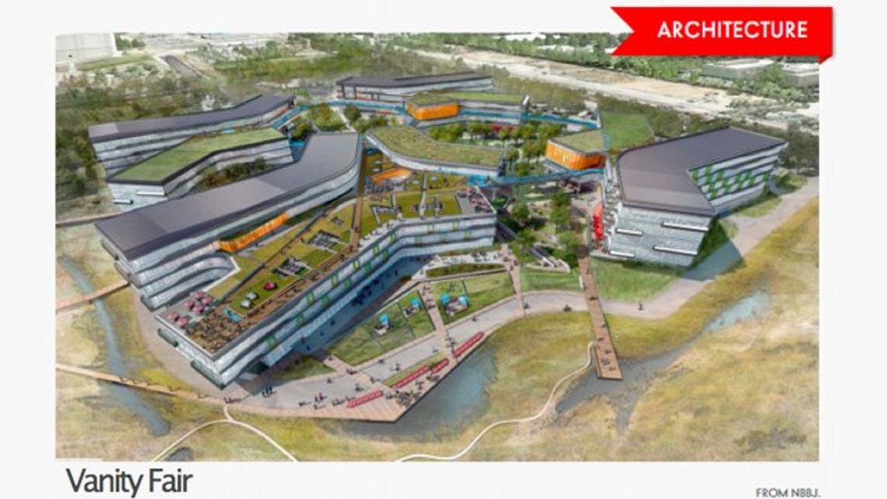 Google本社の新社屋デザインが公開、なんだこれ広過ぎる...