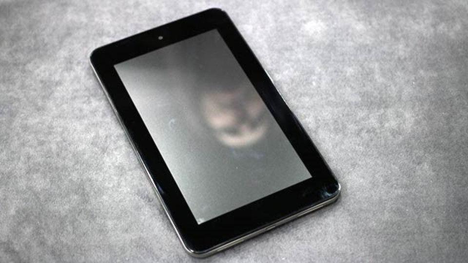 Slate 7ハンズオン、HPの初Andorid端末やいかに!