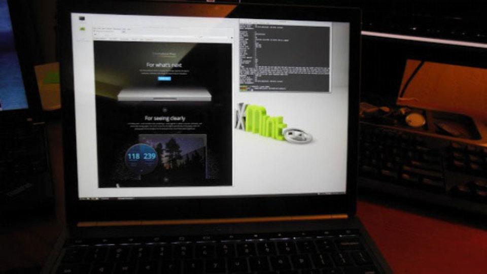 Chromebook Pixelで使えるのはChrome OSだけじゃない、Linuxも使える!
