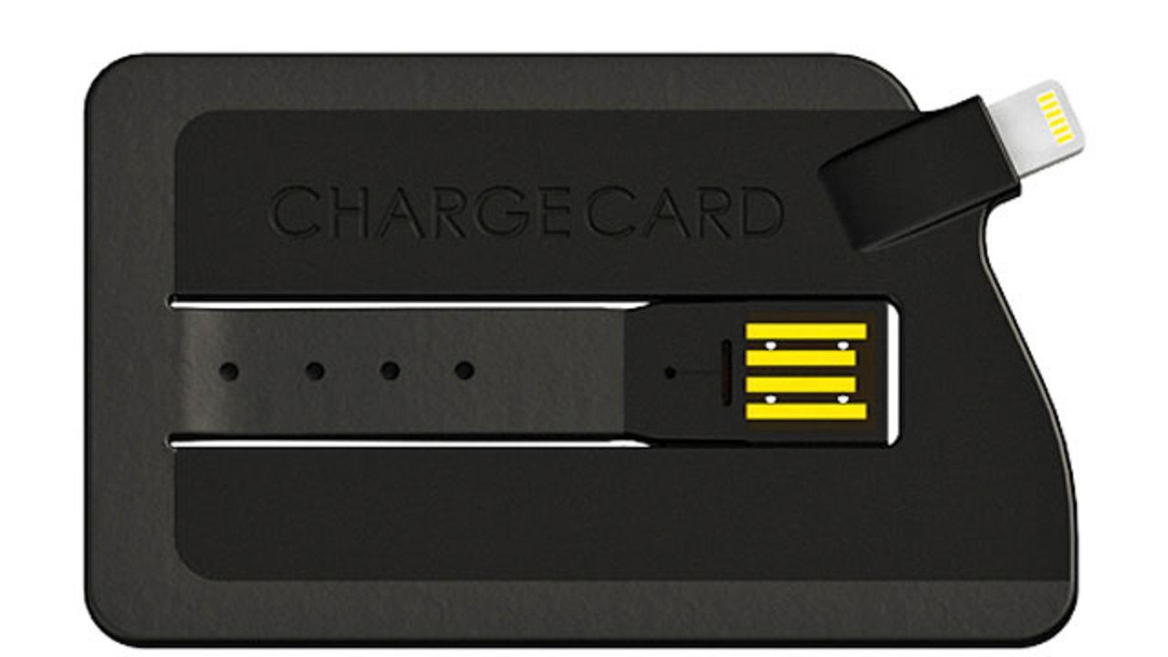 お財布にもすんなり入る、スーパー薄いiPhone 5充電ケーブル