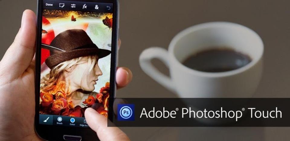ついにiPhone・Androidでもフォトショが。アプリ「Photoshop Touch for phone」
