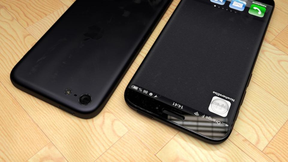 4.8インチiPhone 6はこうなる? 美麗予想図