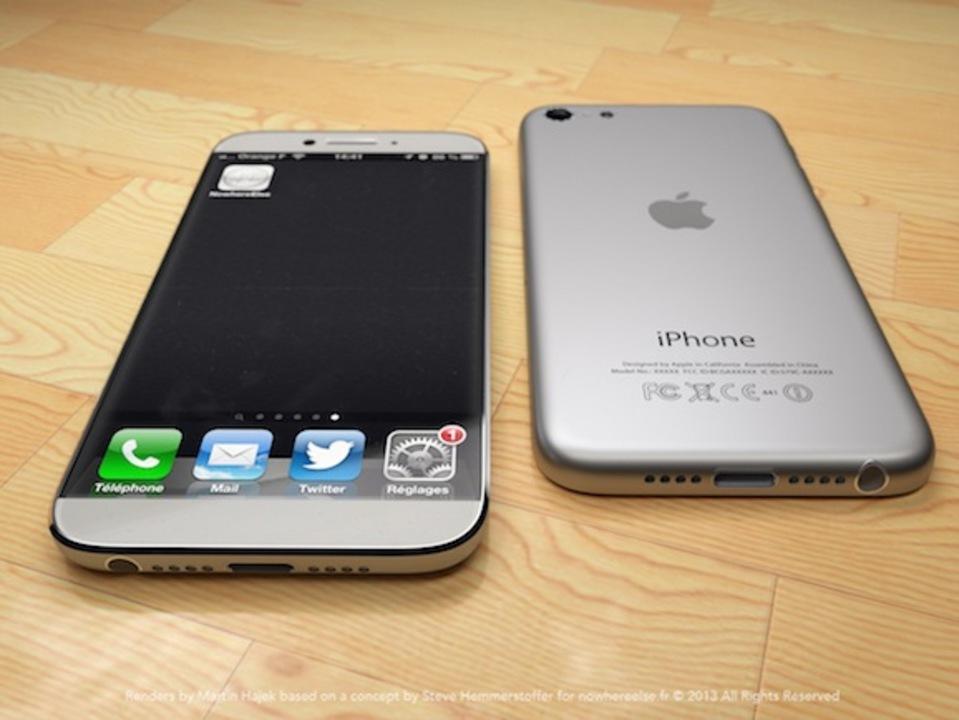 iPhone 5Sはホームボタンで指紋認証&7月に廉価版iPhoneと同時発売?