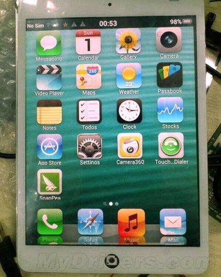 もはや様式美。中国から通話もできちゃうニセiPad miniが登場