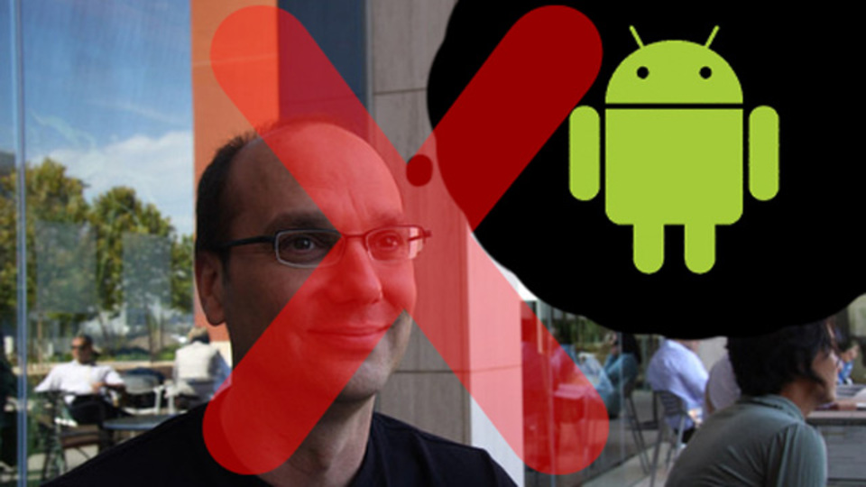 さらば、Androidの父アンディ・ルービン。アップルに次ぎグーグルもモバイル部門トップ交代