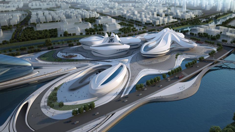 国立競技場のコンペに勝った建築家が、中国の文化施設のコンペにも勝ったよ