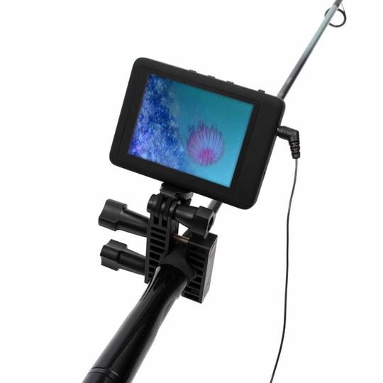 もう釣れないなんて言わせない、魚を見ながら釣りができる「赤外線水中魚っちカメラ」