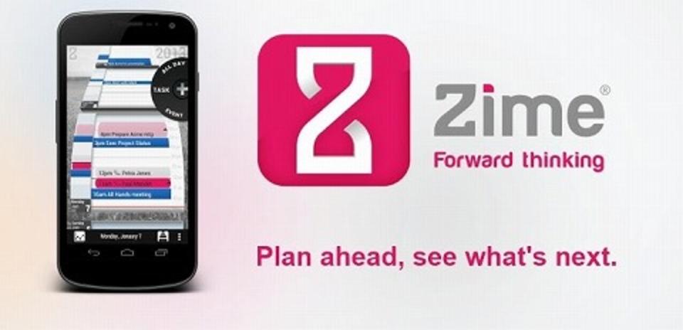 ヌルヌル具合がはんぱないスケジュールアプリ「Zime(BETA)」