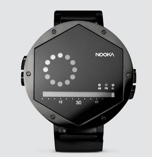 多少時間がわかりやすくなったあっかんべ~してるみたいな腕時計