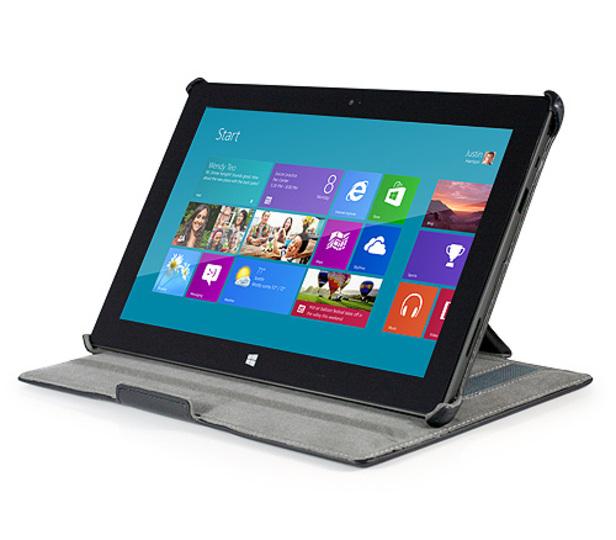 発売間近な「Surface RT」専用レザースタンドケース
