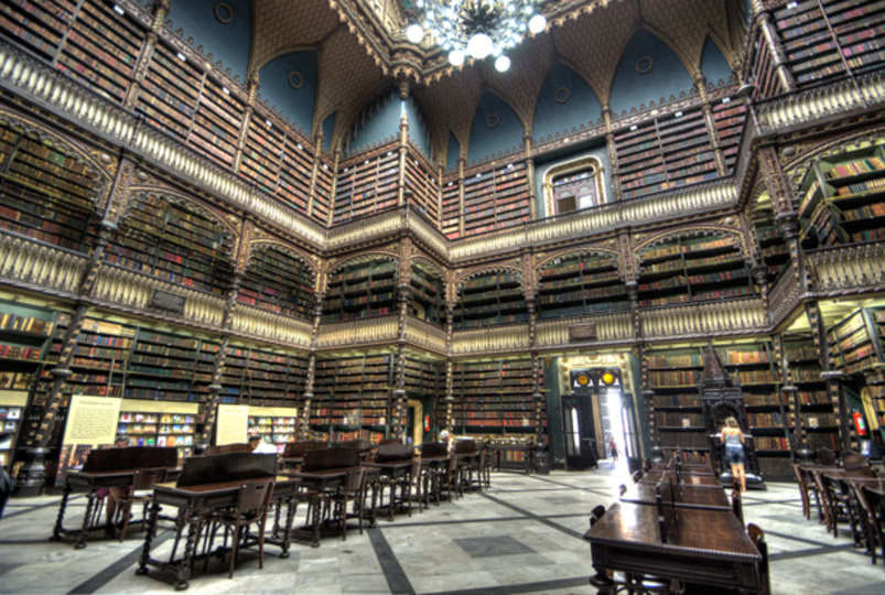 ハリーポッターとかファイナルファンタジーに出てきそうな、リオデジャネイロの「幻想図書館」に行って来ました