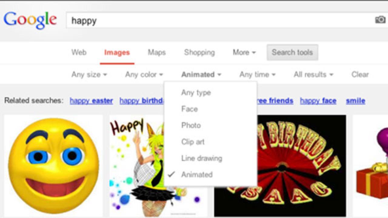 グーグル検索にGIFアニメーション画像検索機能が追加!