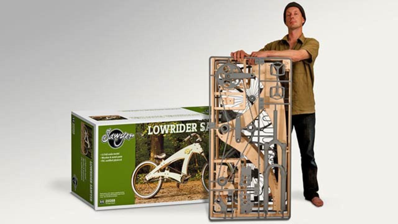 まるでプラモデルみたい! 組み立てる自転車