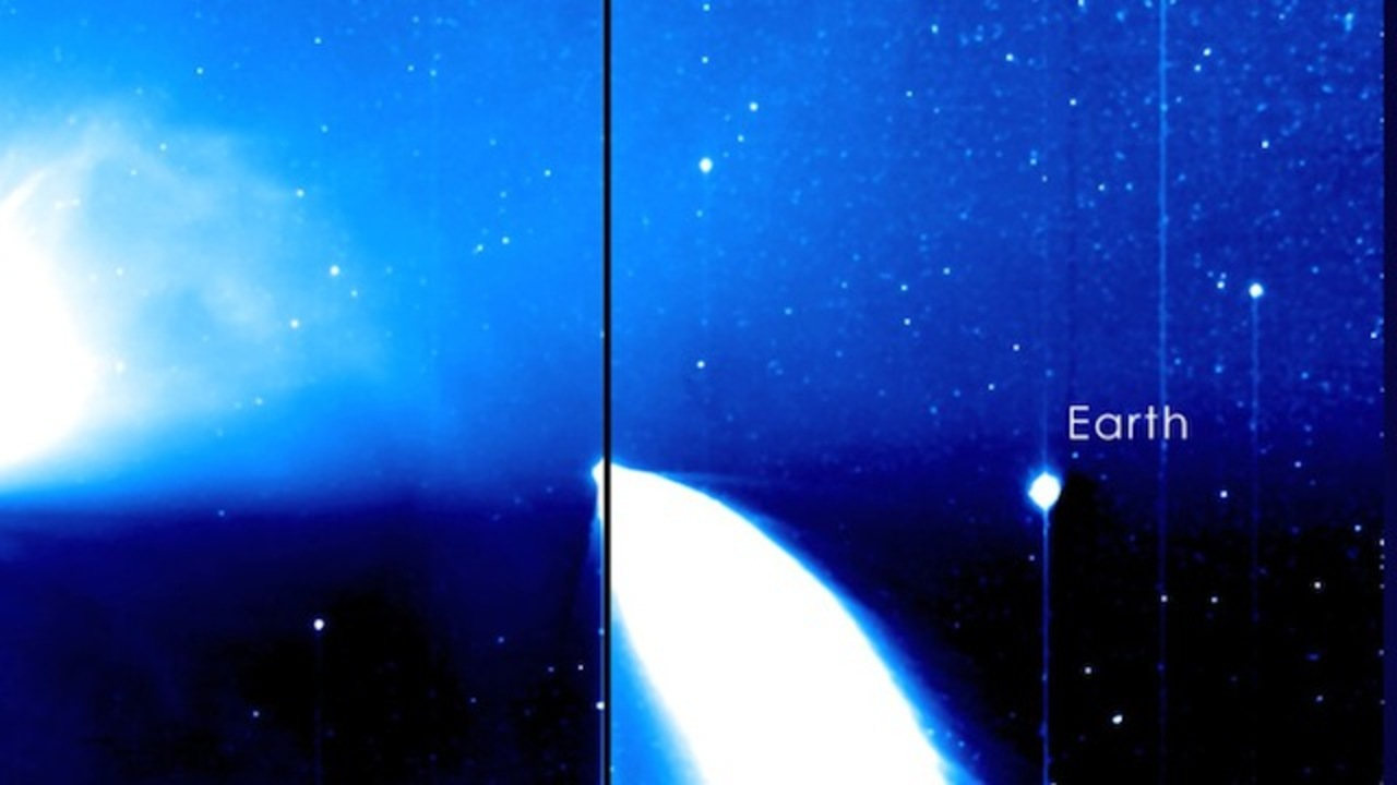 太陽の近くから見た地球ってどんな姿?