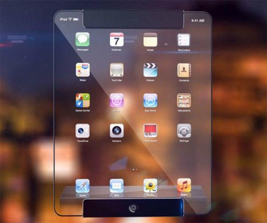 透明なiPadのコンセプト画像。こんな未来はやってくるのか?
