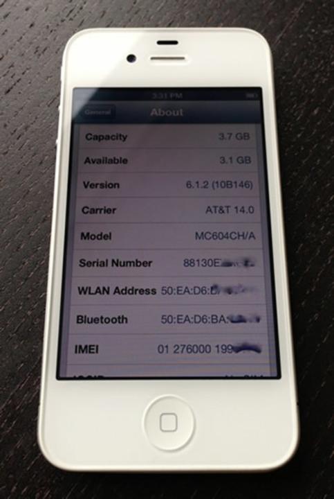 iPhone 4のプロトタイプがeBayに出品されましたー!