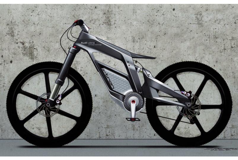アウディの電動自転車がカッコ良すぎて惚れる