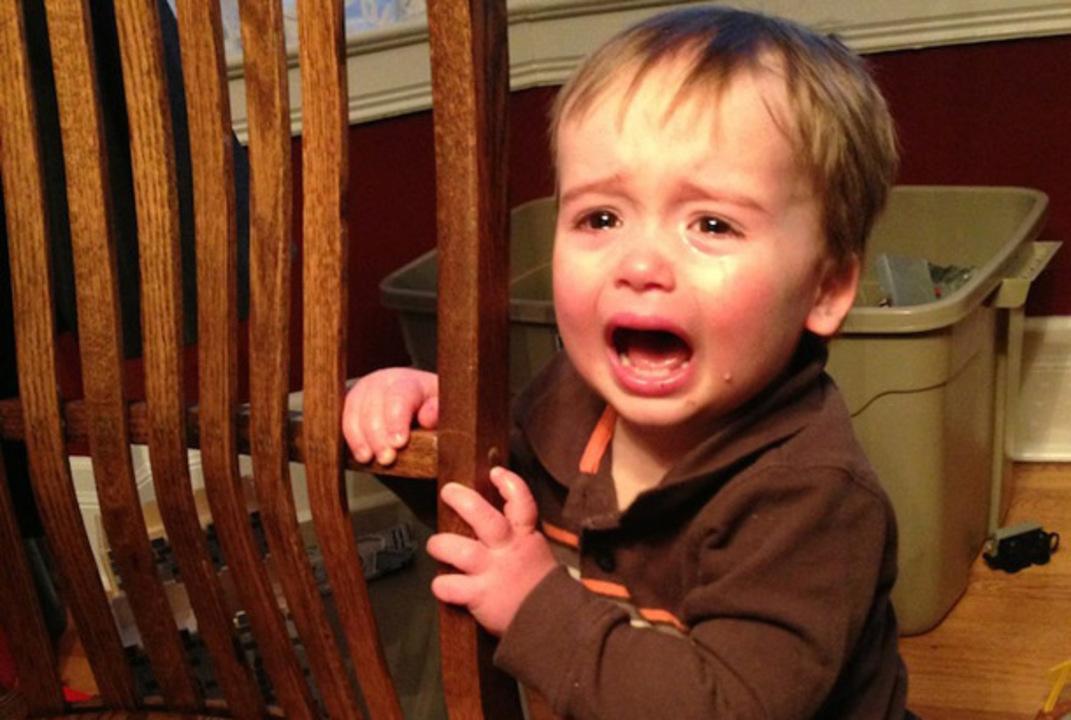 キュン死...。泣いてる息子とその理由をアップし続けるブログ