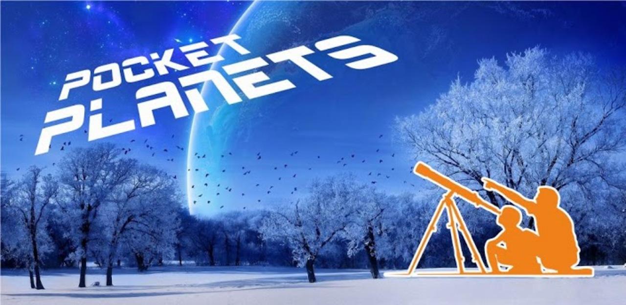 太陽系の惑星を超美麗な画像で楽しむAndroidアプリ「Pocket Planets Lite」