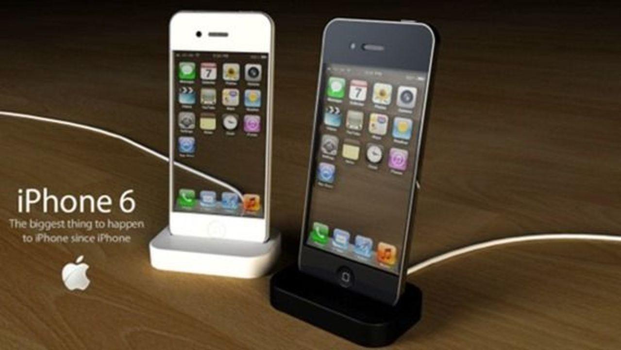 未来感漂うiPhone 6のコンセプトデザイン
