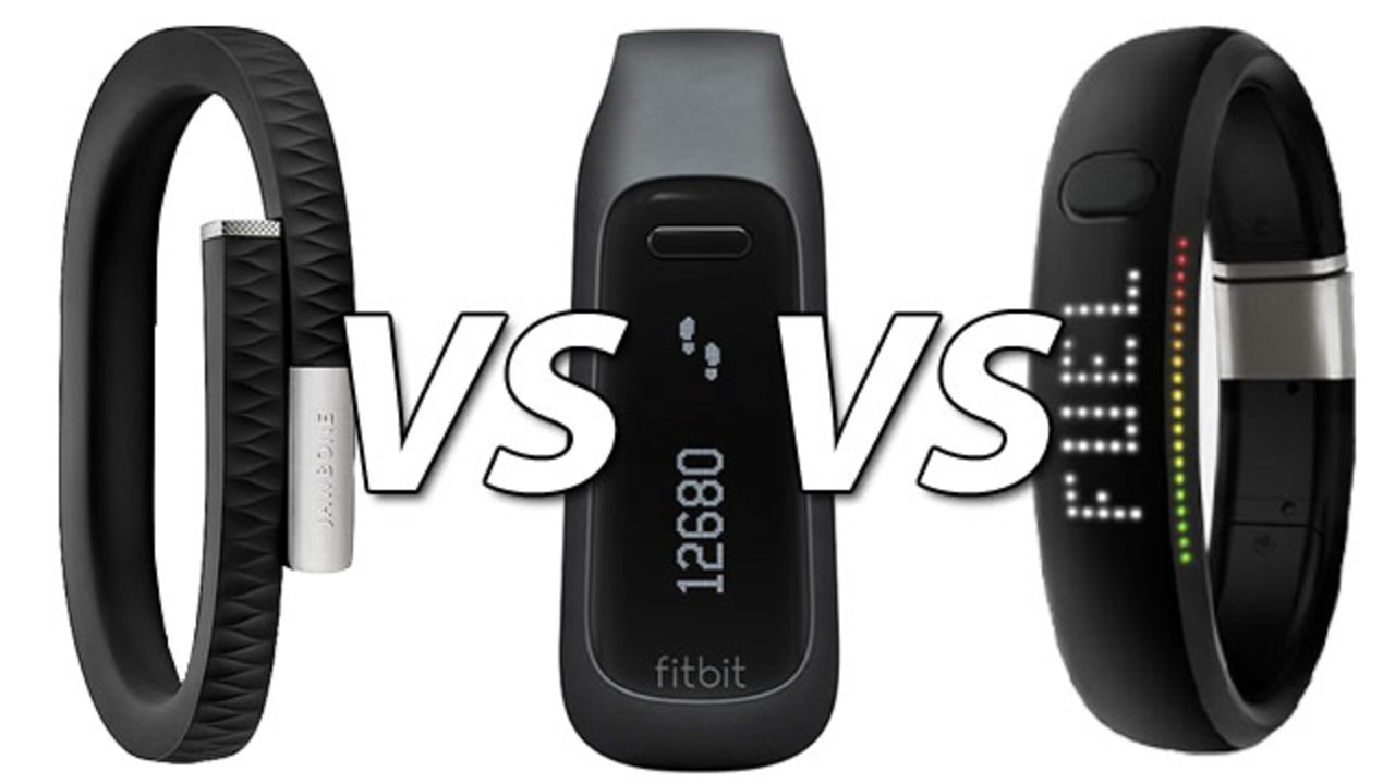 Jawbone UP × FuelBand × Fitbit One ウェアラブルガジェット10番勝負!
