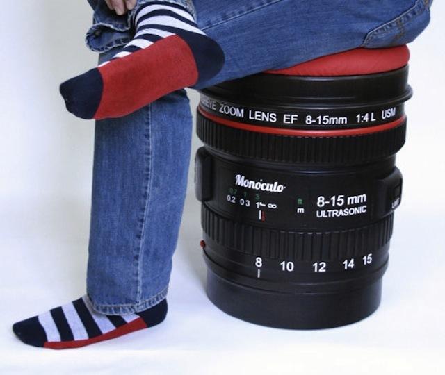 カメラ男子・カメラ女子のための魚眼レンズ風チェアー