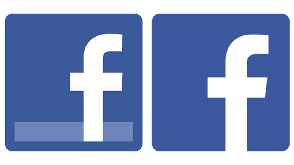 フェイスブックのロゴが微妙に変わったの気がつきました?