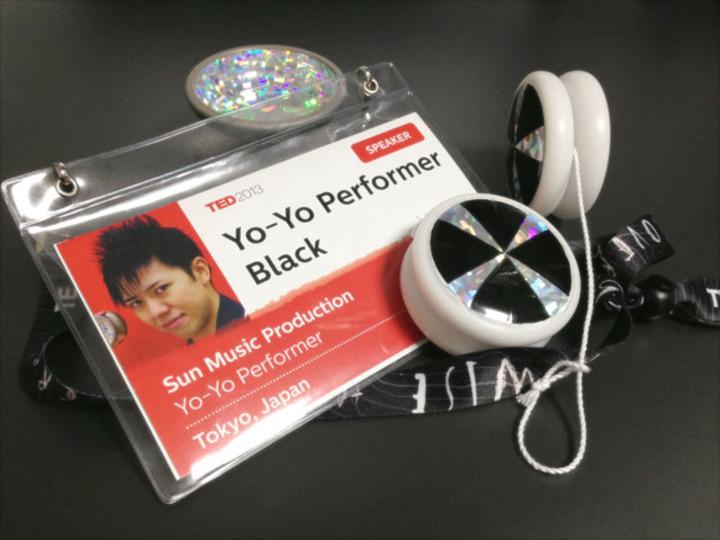 【BLACKのTED出演記 Vol.01】ジョブズも出演した世界最大級の講演会に、空気を読まずヨーヨーで出演してしまいました。