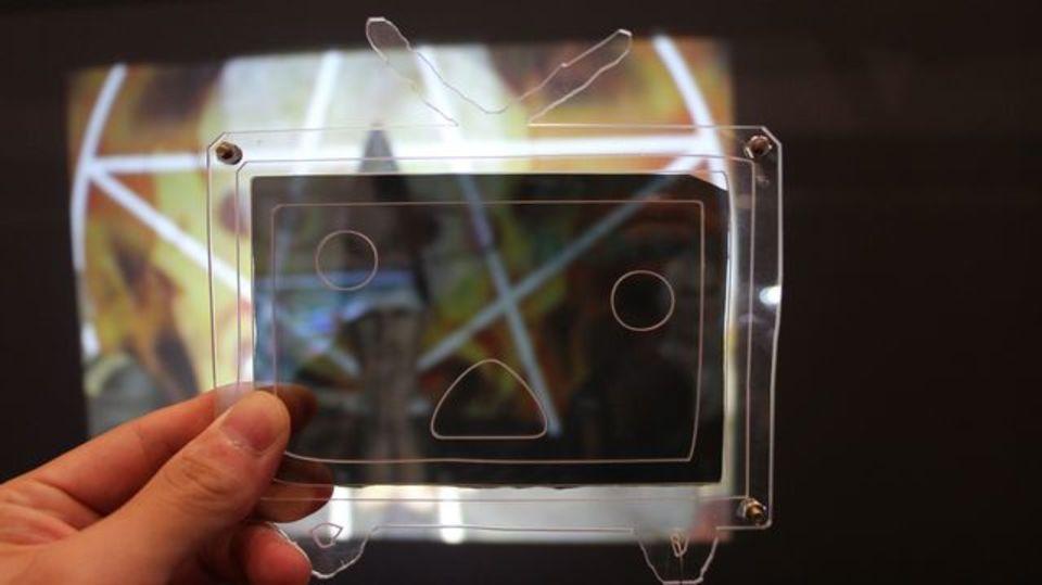 [ #chokaigi ]グーグルグラスなんてもう古い!? 「多重化隠蔽映像」技術を駆使したニコニコメガネが登場!