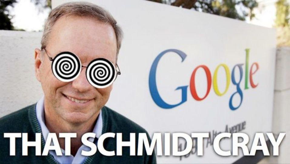 エリック・シュミット氏が指摘するグーグルグラスの奇妙ポイント
