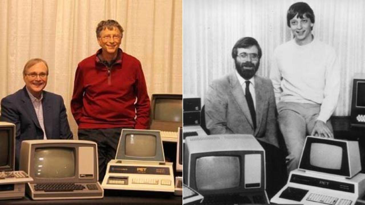 ビル・ゲイツとポール・アレン、1981年のあの代表的なマイクロソフトの写真を再現