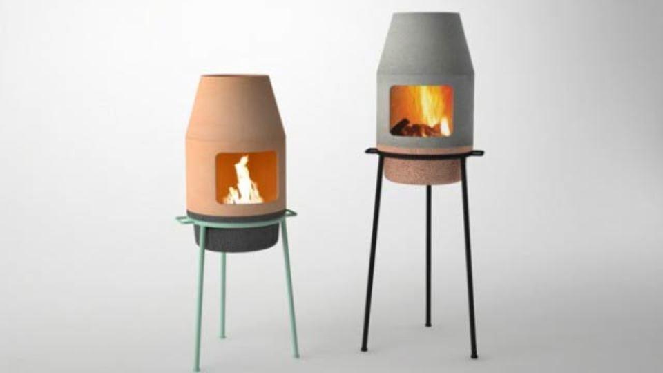 インテリアとしても素晴らしい持ち運び可能な暖炉