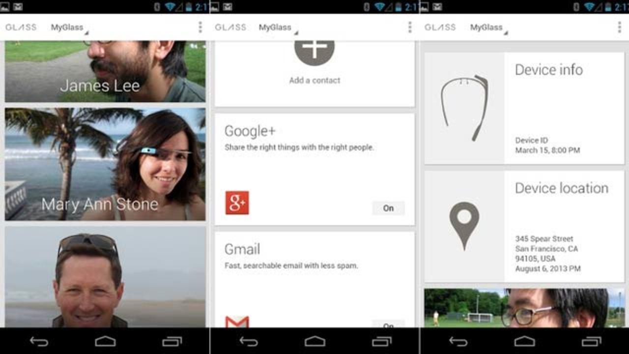 グーグルグラス専用アプリ「MyGlass」がGoogle Playに早くも登場!