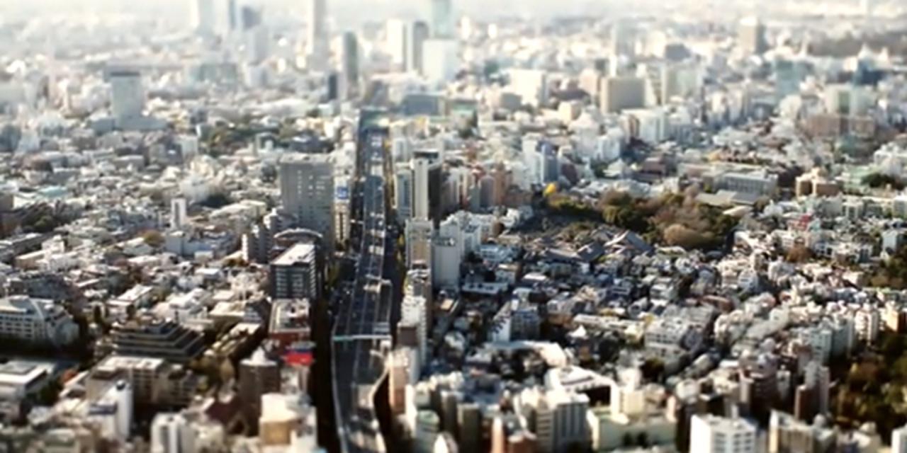 東京をジオラマ風に覗き込もう! 六本木ヒルズから見える景色を微速度撮影した動画が素晴らしい