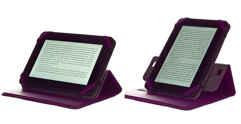 Kindle Fire HDを付けたまま縦横回転ができるスタイリッシュなケース2種