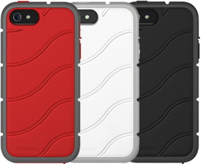 エアチャンバー機構を搭載した耐衝撃性に優れたiPhone 5ケース