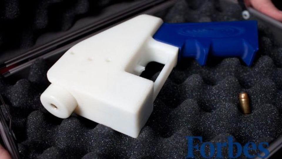 3Dプリント銃の設計図、米国務省の要請で削除