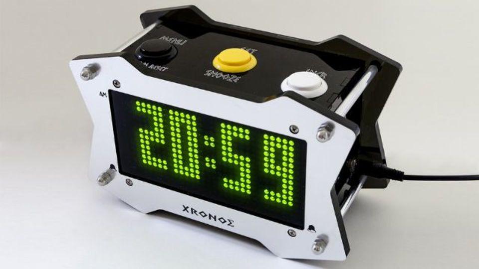 オープンソースの目覚まし時計「Xronos」