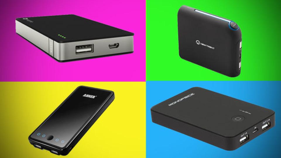 海外ブランドならではのコンパクト・大容量なモバイルバッテリーたち
