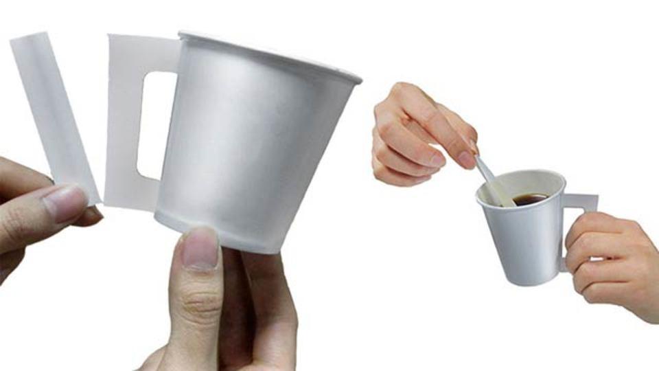 アレがアレになる! これぞ賢い使い捨てコーヒーカップだ