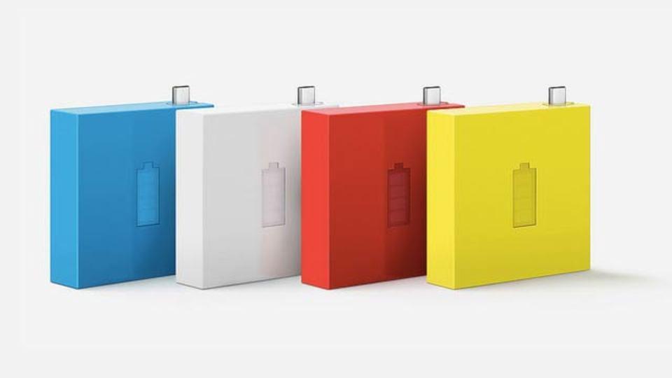 ノキアの新ポータブルバッテリー、カラフルでかわいい