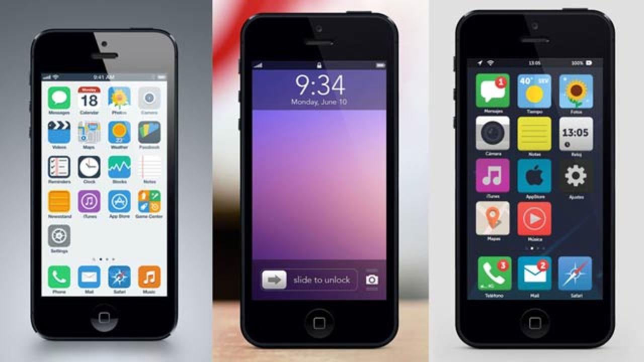 どうなるiOS 7? iOS 7を大予想したモックアップ8選