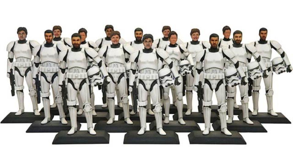 スター・ウォーズファン必見! ディズニー・ハリウッド・スタジオで、あなたの顔のストーム・トルーパーが作れるチャンス