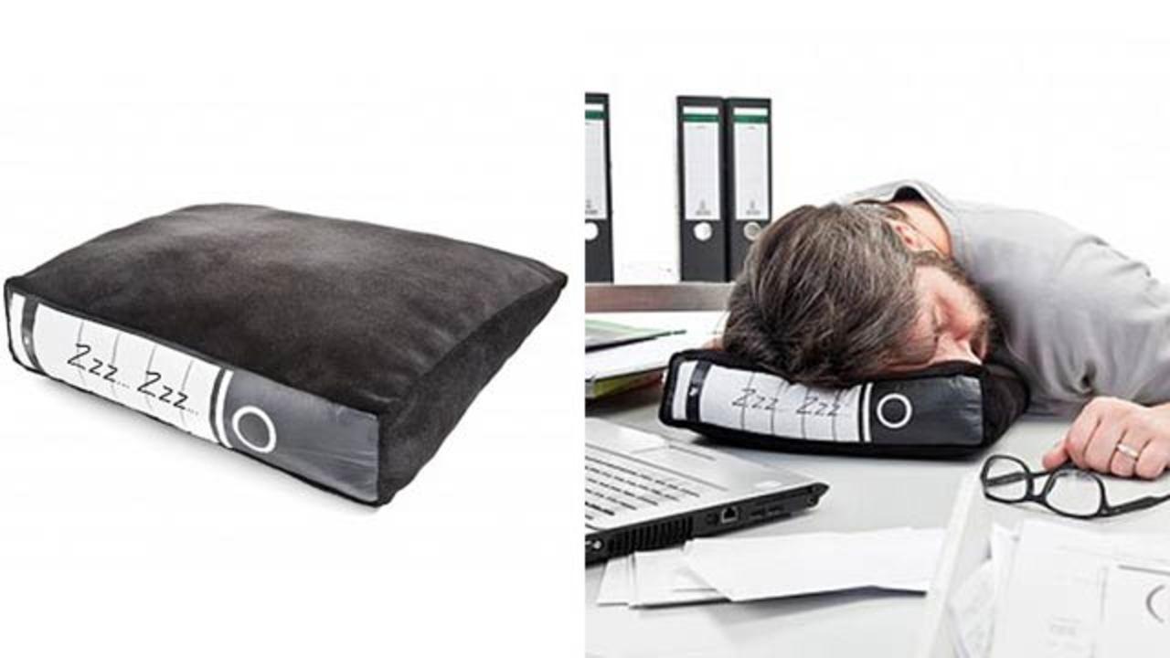 より快適でよりバレない居眠り用クッション