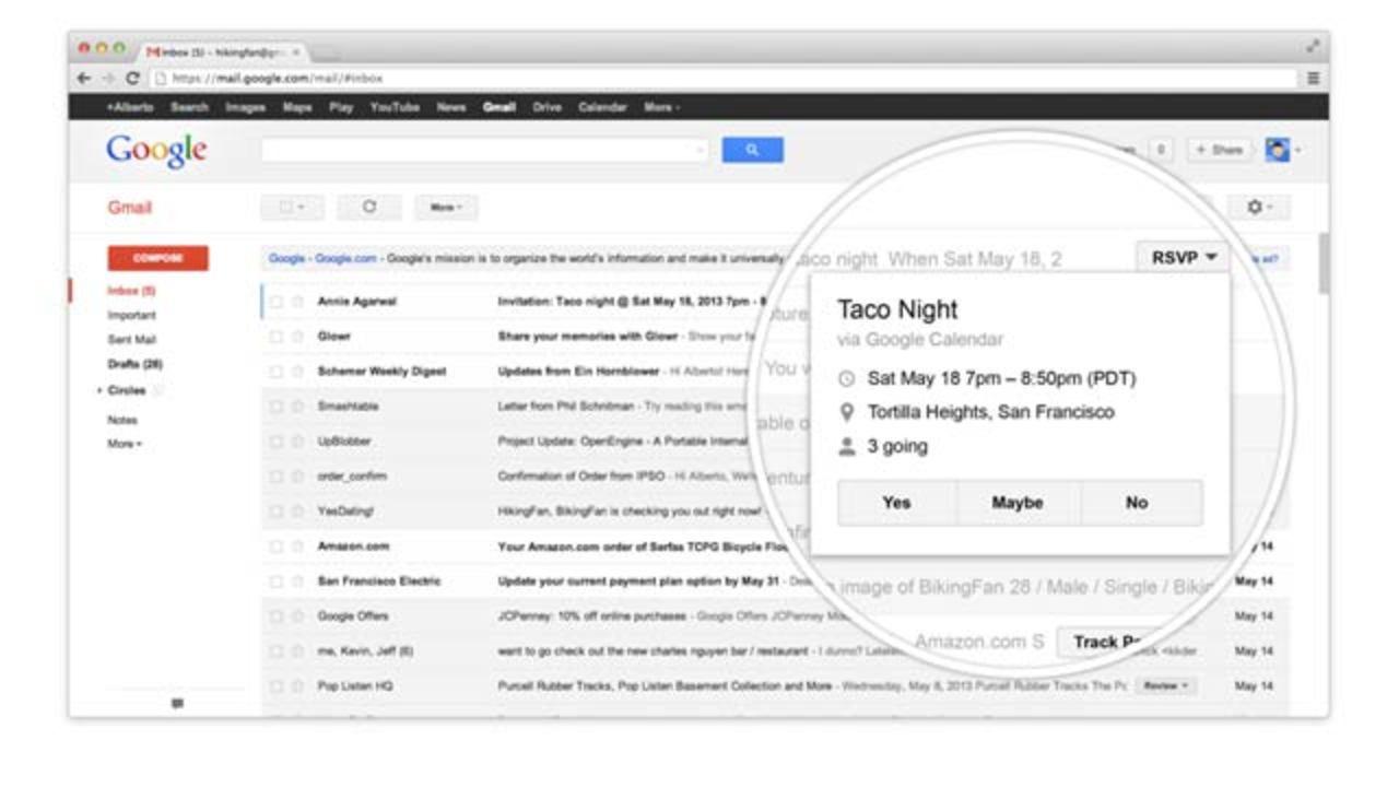 Gmail新タスク管理ボタンで、メール受信箱から楽々操作[ #io13 ]