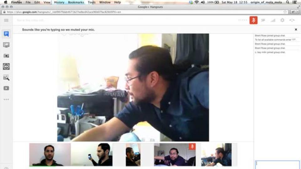 グーグルの新「ハングアウト」でできるマルチカメラハック